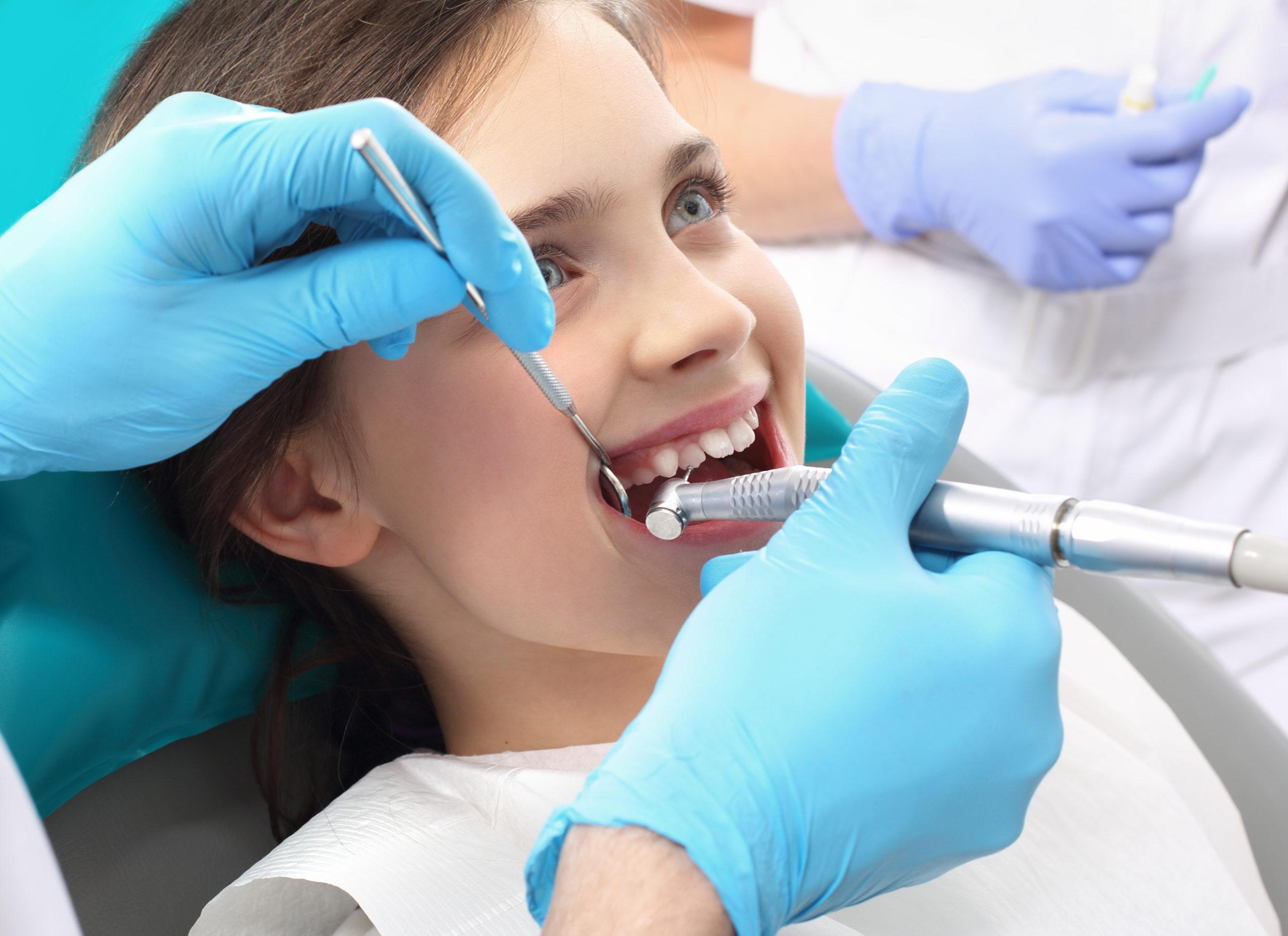Zahnreinigung Kinder